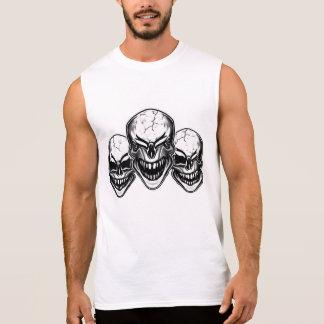Laughing Skulls Sleeveless T-shirt