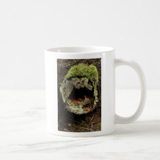 laughing-stump, Ask not at whom the stump laughs. Coffee Mug