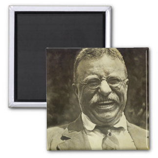 Laughing Theodore Roosevelt Magnet