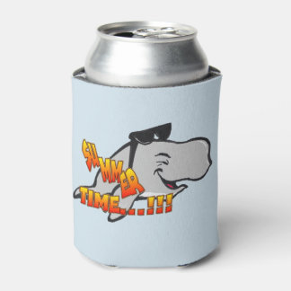 Laughing Whale Cartoon Can Cooler