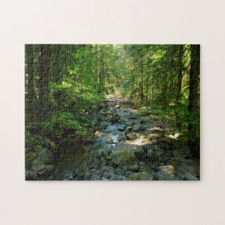 Laughingwater Creek at Mount Rainier National Park Jigsaw Puzzle