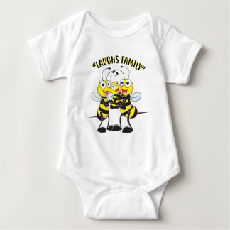 Laughs Family Baby Bodysuit