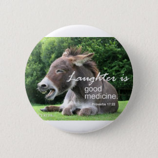Laughter 2 Inch Round Button
