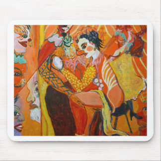 Laughter - Clown Painting Mouse Pad