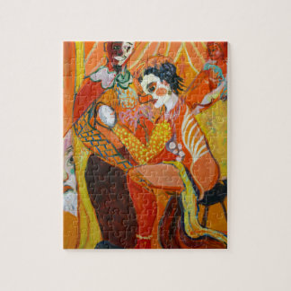 Laughter - Clown Painting Puzzle