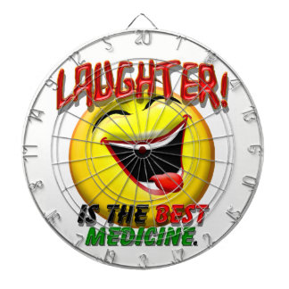 Laughter is the Best Medicine Dartboard