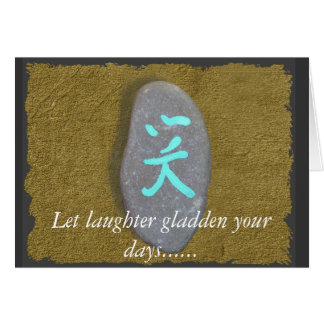 Laughter Notecard/greeting card