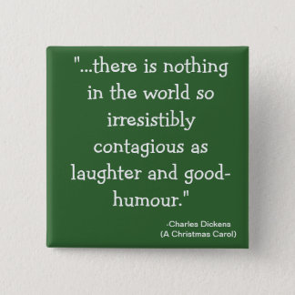 laughter-The Scrooge Collection 2 Inch Square Button