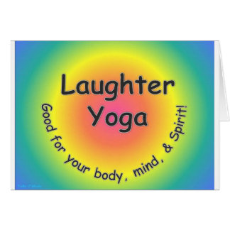 Laughter Yoga Card