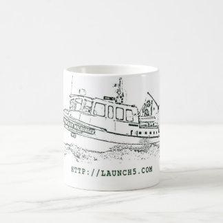 Launch 5 Mug - Line Drawing