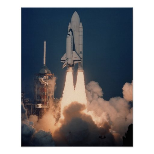Launch of Space Shuttle Columbia (STS-2) Posters