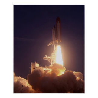 Launch of Space Shuttle Discovery (STS-96) Posters