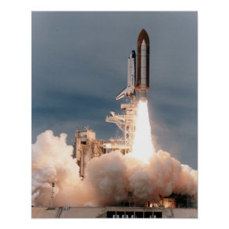 Launch of Space Shuttle Endeavour (STS-69) Print