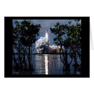 Launch of the Space Shuttle STS-80 Greeting Card