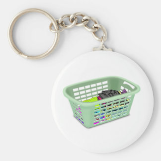 Laundry Basket Keychain