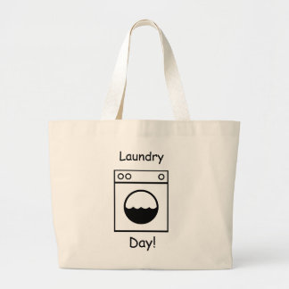 Laundry Day! Large Tote Bag