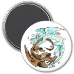 Laundry Dragons Dishwasher Magnet! 3 Inch Round Magnet