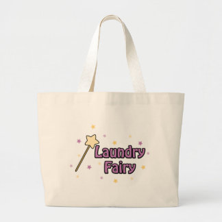 Laundry Fairy Large Tote Bag