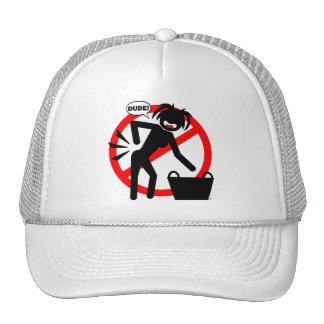 Laundry Hazard! Trucker Hat