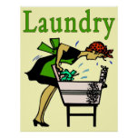 Laundry Lady Poster