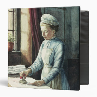 Laundry Maid, c.1880 3 Ring Binder