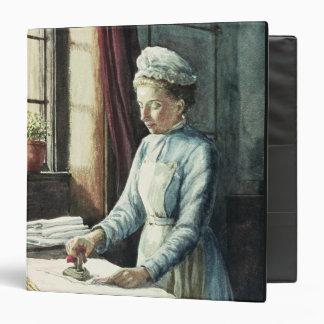 Laundry Maid, c.1880 3 Ring Binder
