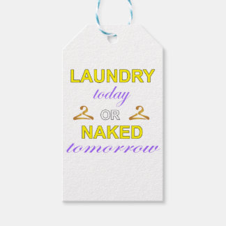 Laundry Pack Of Gift Tags