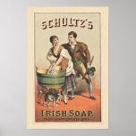 Laundry Poster Shultz Irish Soap
