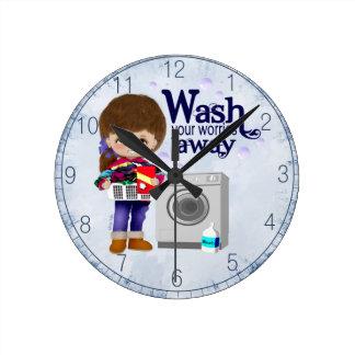Laundry Room Clock