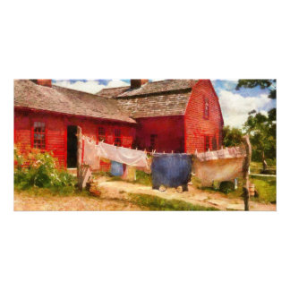 Laundry - The Clothes Line Photo Card