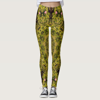 Laura's Flower Garden Leggings