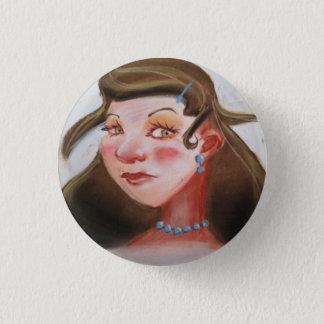 Laureen 1 Inch Round Button