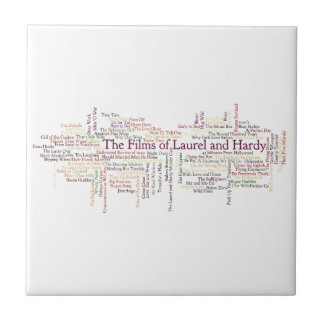 Laurel and Hardy Themed Item Tile