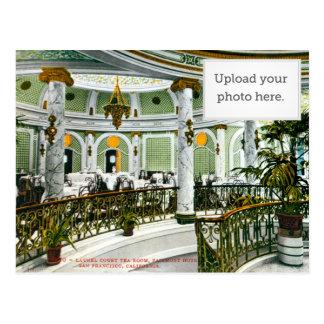 Laurel Court Tea Room Postcard