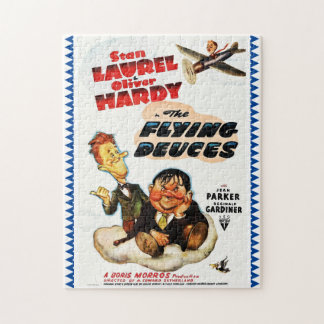 "Laurel & Hardy ""Flying Deuces"" Advertising Poster Puzzles"