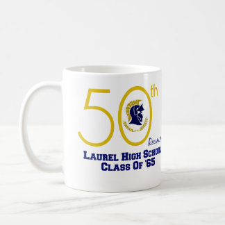 LAUREL HIGH CLASS 65 REUNION COFFEE MUG 11oz