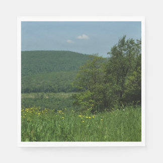 Laurel Highlands Pennsylvania Summer Photography Paper Napkin