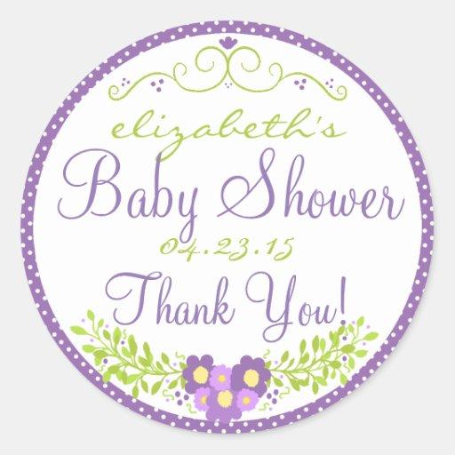 Laurel-Lavender Baby Shower