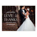 Laurel Whimsy | Photo Thank You Postcard