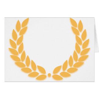 Laurel Wreath Gold Card