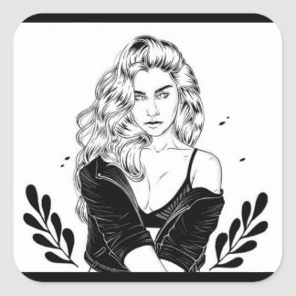 Lauren Jauregui Square Sticker