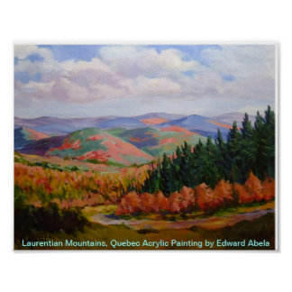 Laurentian Mountains, Quebec Poster