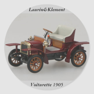 Laurin&Klement Voiturette 1905 Sticker