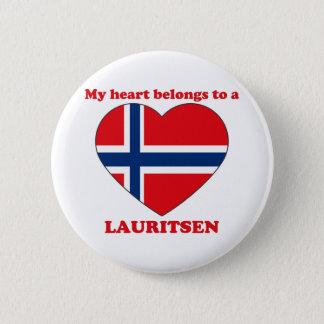 Lauritsen 2 Inch Round Button