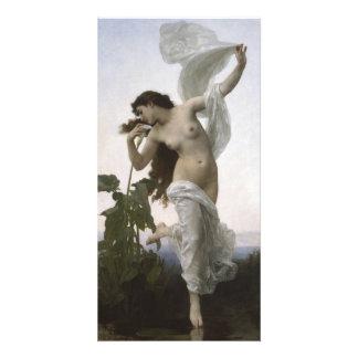 L'Aurore Dawn Bouguereau Custom Photo Card