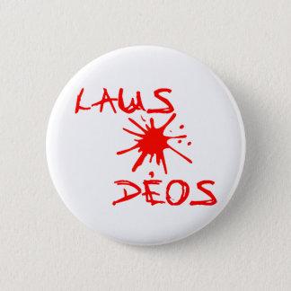 Laus Deos - Praise God Christian Wear 2 Inch Round Button