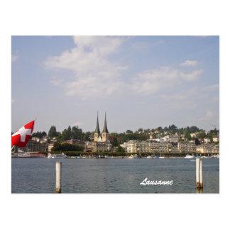 Lausanne-Lake Geneva Postcard