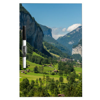 Lauterbrunnen  - Bernese Alps - Switzerland Dry Erase Whiteboards