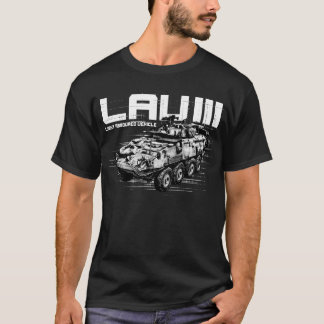 LAV III  Men's Basic Dark T-Shirt