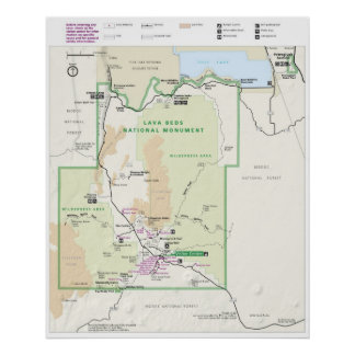 Lava Beds National Monument Poster